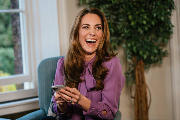 GBR: The Duchess Of Cambridge Attends A Q&A Session On The Early Years