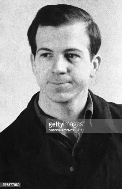 This photograph of Lee Harvey Oswald was taken in Minsk and was confiscated by the FBI during the Kennedy assassination investigation.