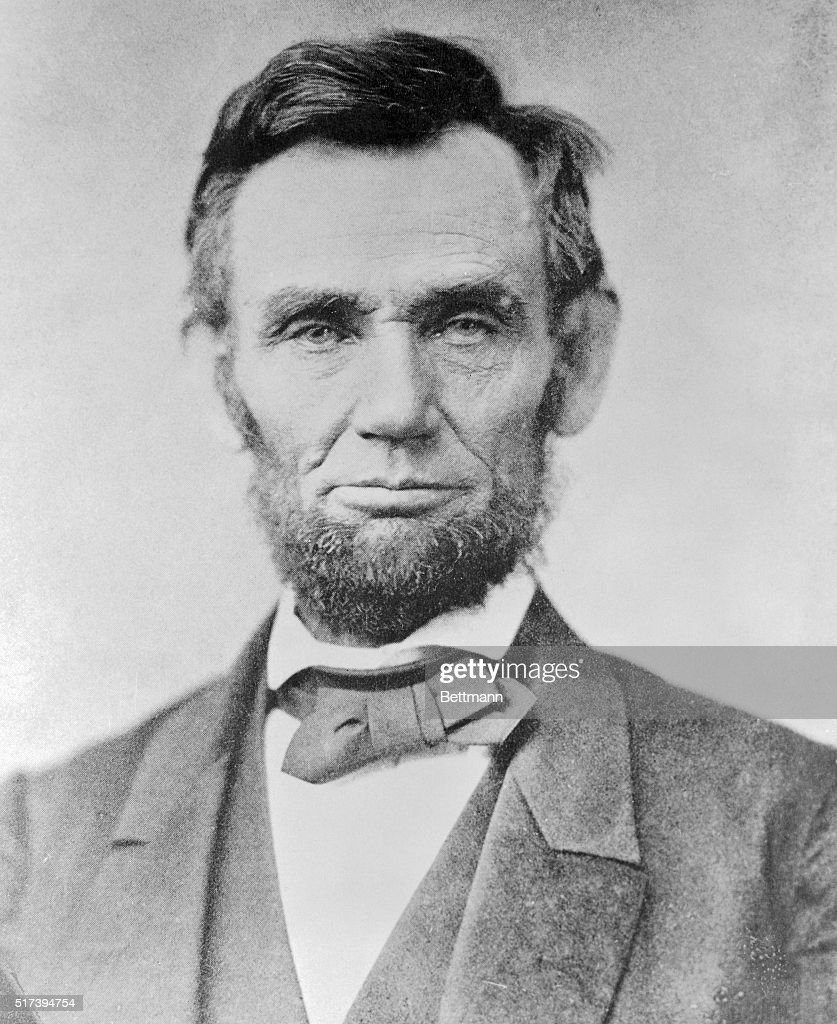 This photograph of President Lincoln was made by Alex Gardner of Washington eleven days before Lincoln delivered his Gettysburg Address. It is one of the best photographs extant of the 'Great Emancipator.'