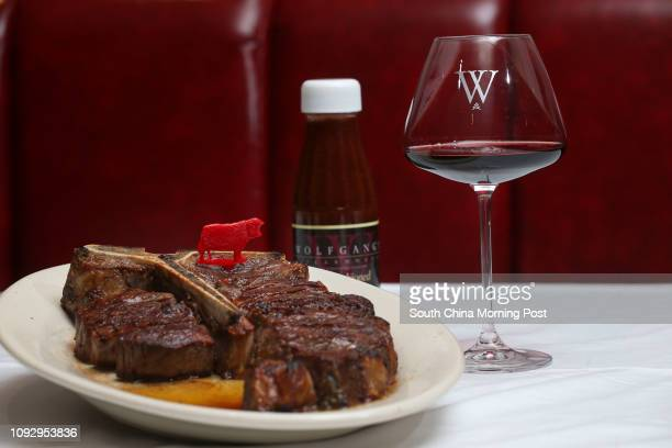 This photograph shows the Porterhouse steak for two from Wolfgang's Steakhouse in Central Hong Kong 15JUN17 SCMP / David Wong