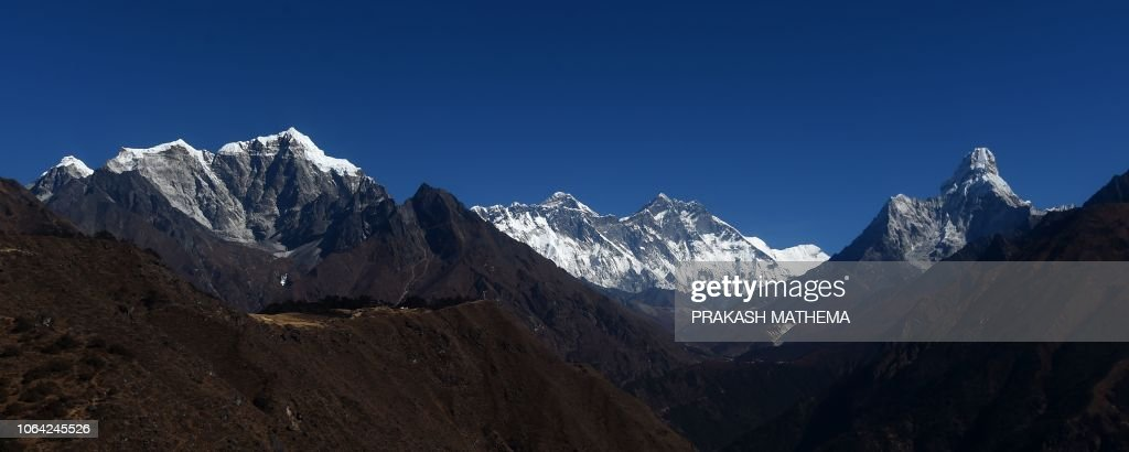 NEPAL-TOURISM-EVEREST : News Photo