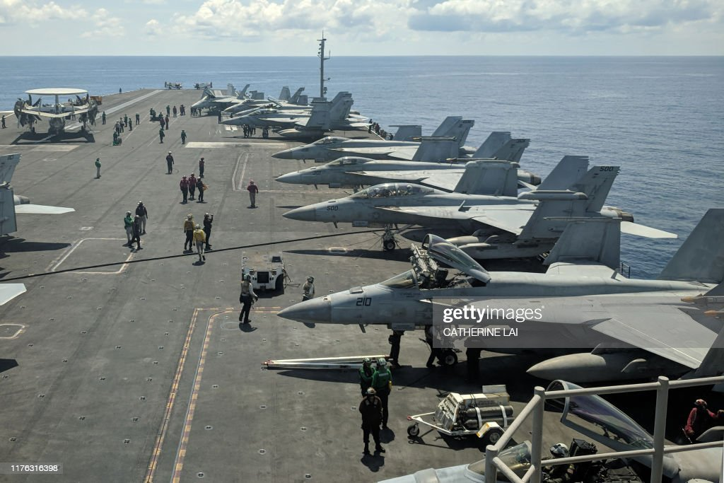 US-DEFENCE-NAVY : News Photo