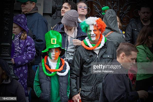 This picture is from St.patrick's Festival Parade 2012 in Dublin, Ireland