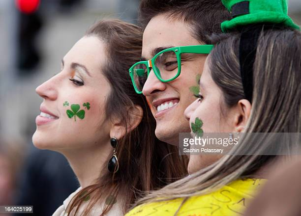 This picture is from St.patrick's Festival Parade 2012 in Dublin, Ireland. People travel from all over the world to Ireland to participate in the...