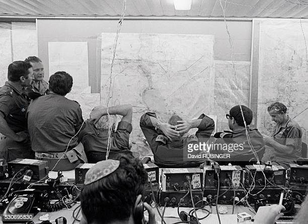 This picture is significant only because it was taken in the normally ultrasecret war room of Southern Command during the most critical hours of the...