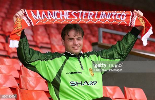 This picture may only be used in the context of an editorial feature Manchester United's latest signing Mark Bosnich who is to replace Peter...