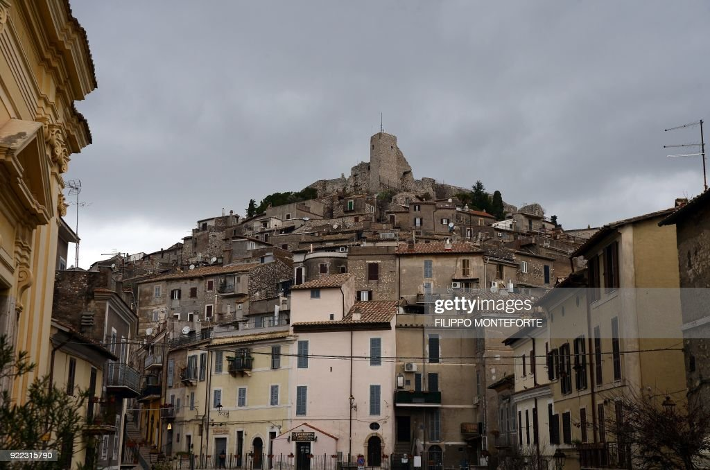 This picture shows a general view of the Italian town of Guidonia on February 1, 2018. e In the industrial town of Guidonia near Rome, its first Five Star mayor is pulling out all the stops as the populist movement gears up for a shot at national governance. Tall, bespectacled and originally from France, Michel Barbet won the mayoralty last year amid an outpouring of frustration and anger towards the mainstream political parties. /