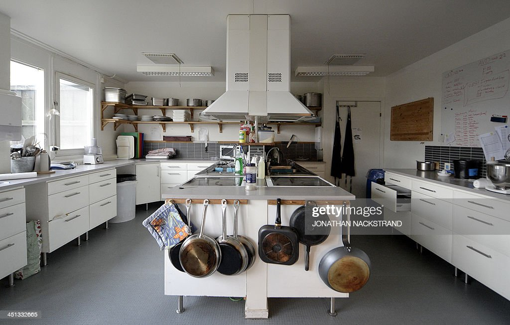 This Picture Shows A Kitchen Part Of A Working Area Inside The  High Security Prison