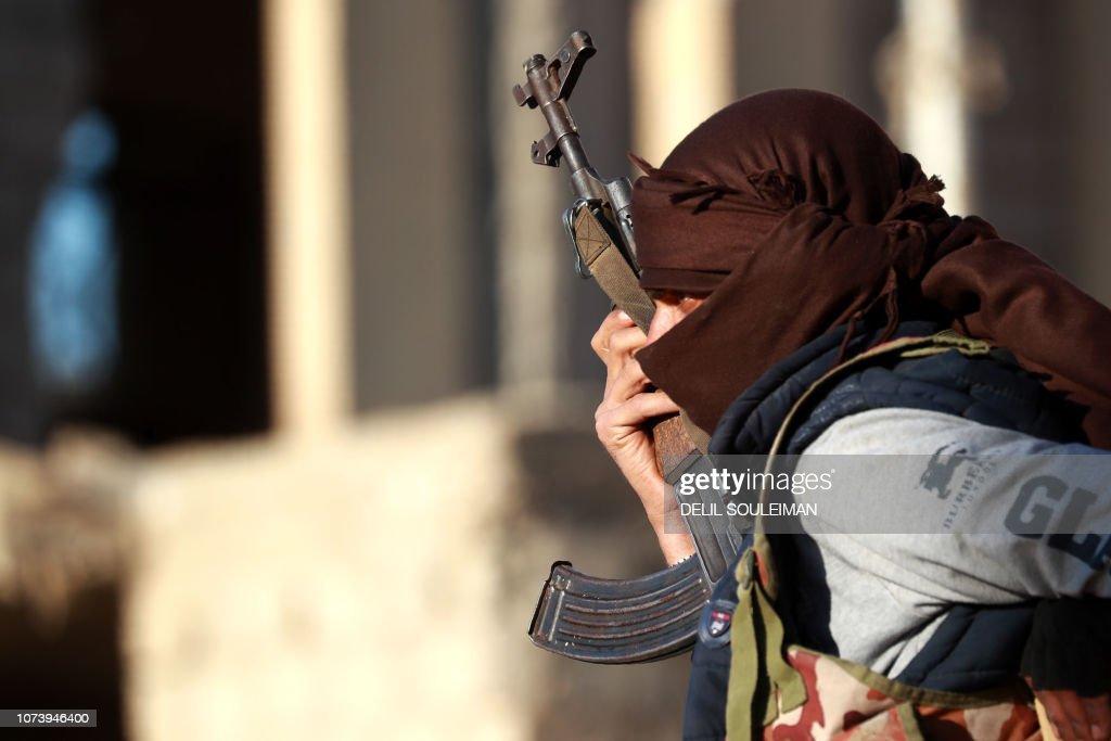SYRIA-CONFLICT-Syria-conflict-IS : Nachrichtenfoto