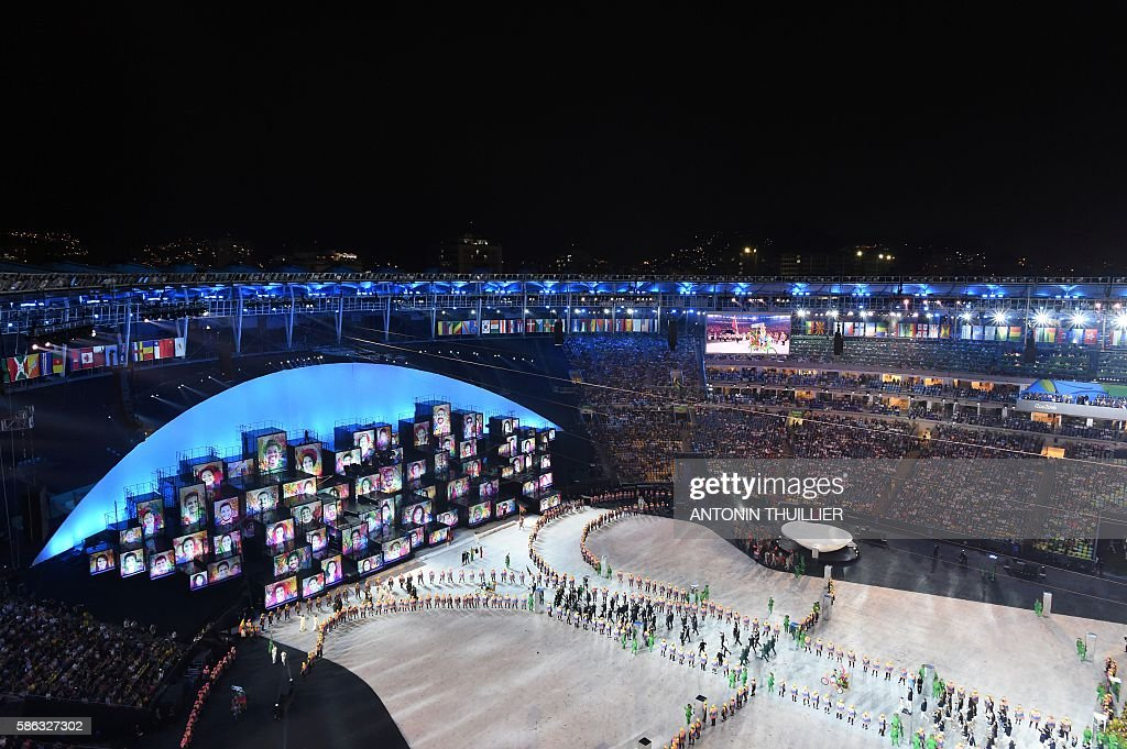 OLY-2016-RIO-OPENING : News Photo