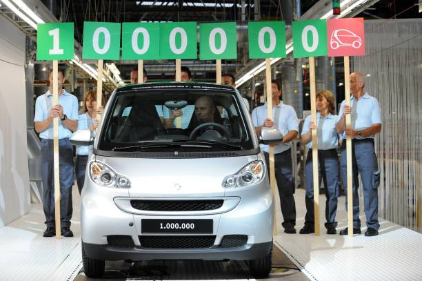 The Millionth Smart Fortwo During The Celebrations For 10th