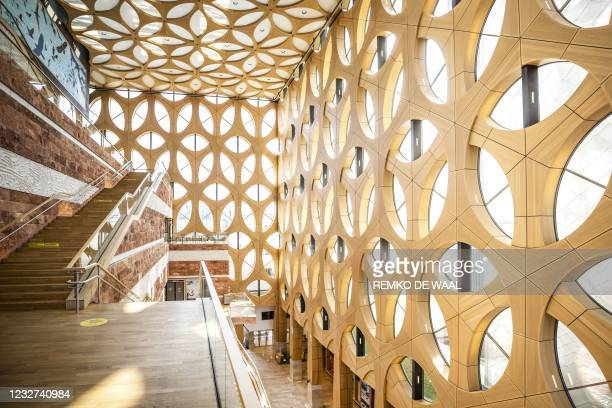 This picture shows the Naturalis Biodiversity Center, a national museum of natural history and research center on biodiversity which was voted...