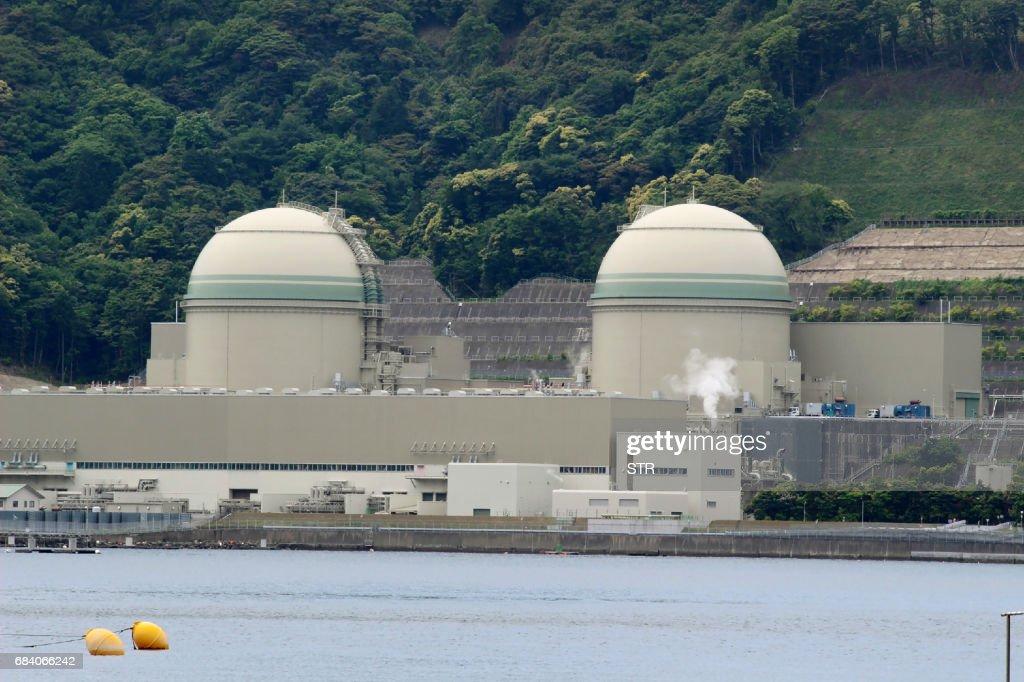 JAPAN-NUCLEAR-ENERGY : News Photo