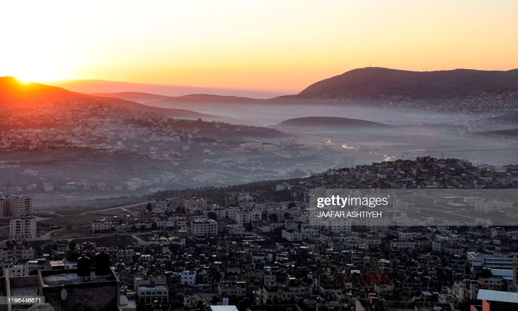 PALESTINIAN-ISRAEL-CONFLICT-WEATHER : News Photo
