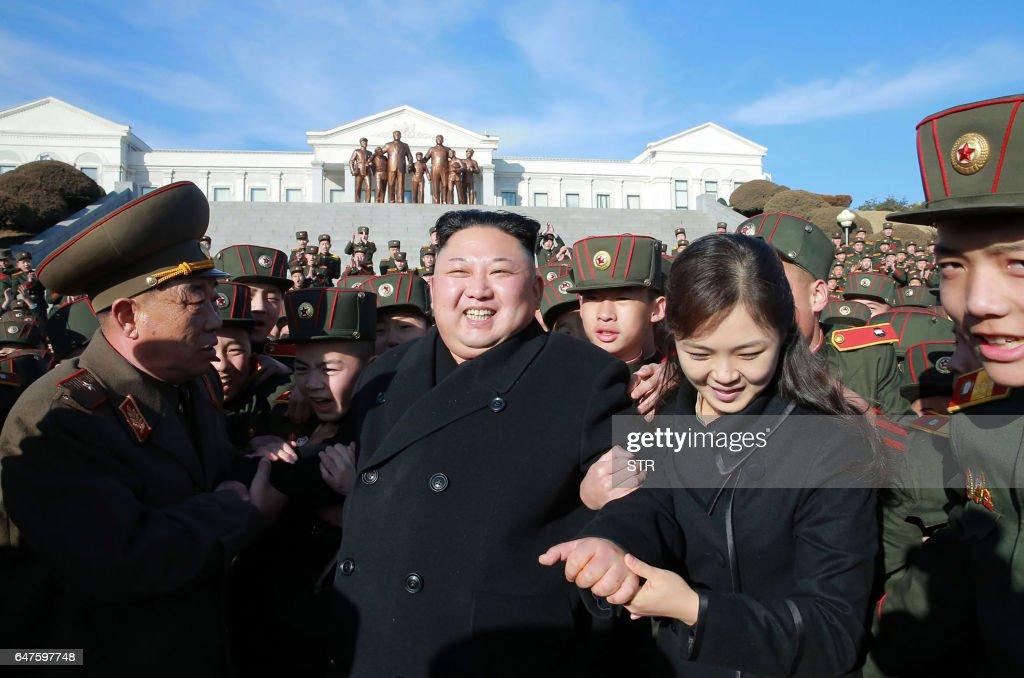 NKOREA-POLITICS-KIM : Nachrichtenfoto
