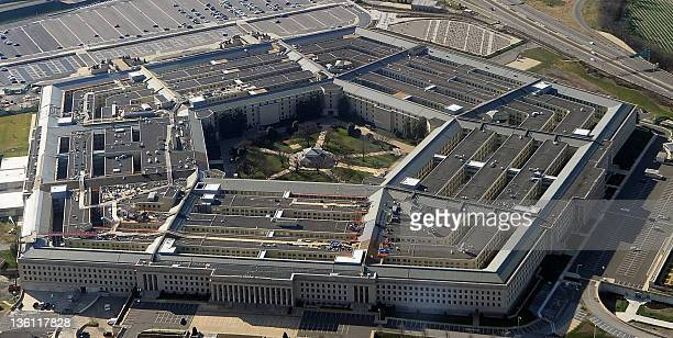This picture taken December 26 2011 shows the Pentagon building in Washington DC Headquarters of the United States Department of Defense the Pentagon...
