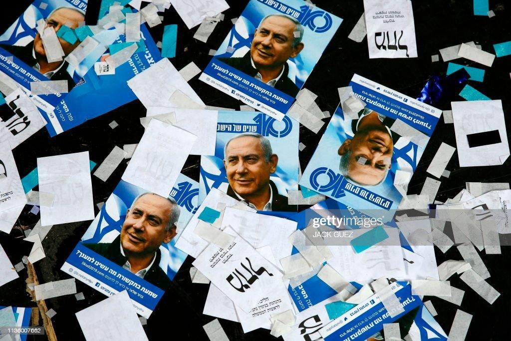 TOPSHOT-ISRAEL-VOTE : News Photo