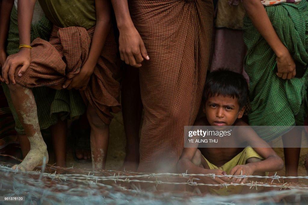 MYANMAR-BANGLADESH-REFUGEE-UNREST-ROHINGYA : News Photo