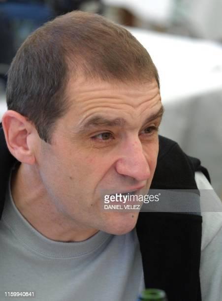 This picture taken in 2002 shows former ETA activist and current proindependence Basque nationalist party BATASUNA deputy Jose Antonio Urrutikoetxea...