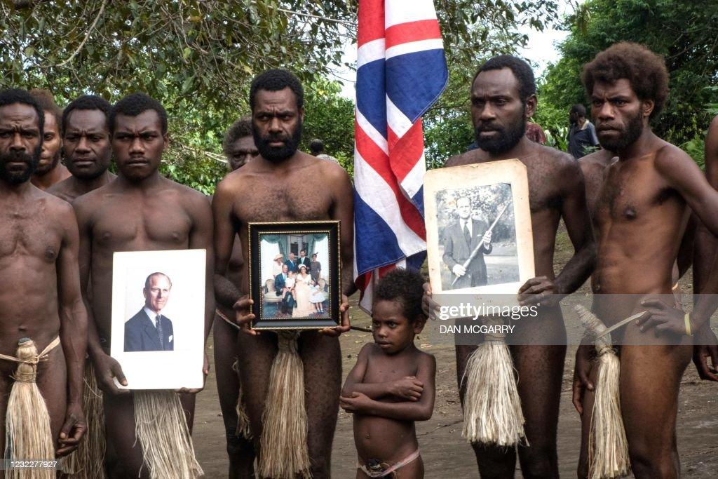 VANUATU-BRITAIN-ROYALS-PHILIP : News Photo