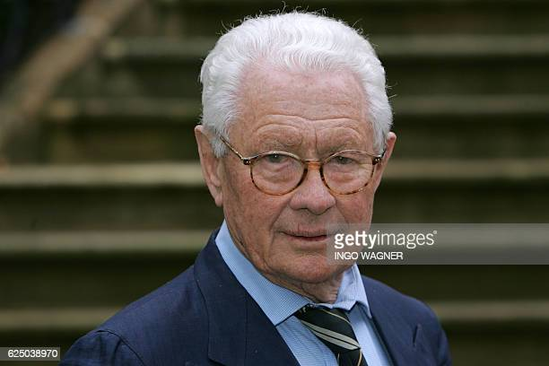 This picture taken on April 21 2006 shows British photographer David Hamilton pictured in Aschendorf northern Germany Fashion photographer threatened...