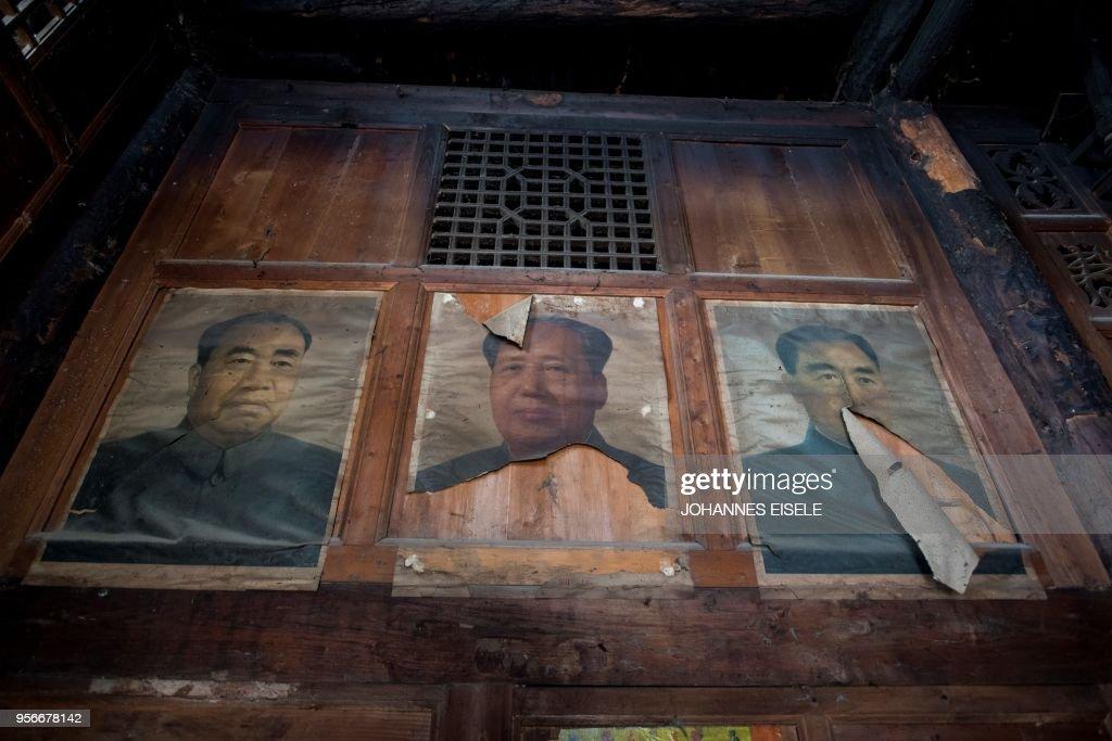 CHINA-QUAKE-VILLAGE : News Photo