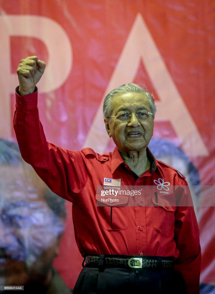 Mahathir Mohamad Election Campaign