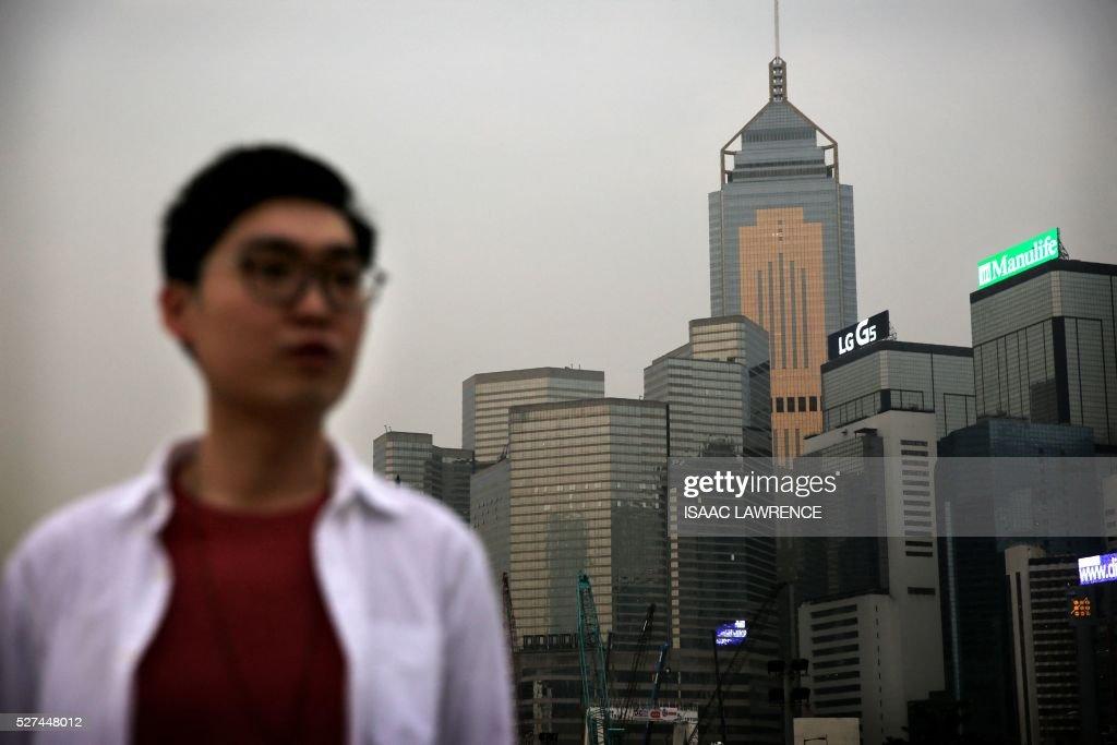 HONG KONG-POLITICS-INDEPENDENCE-DEMOCRACY : Foto di attualità