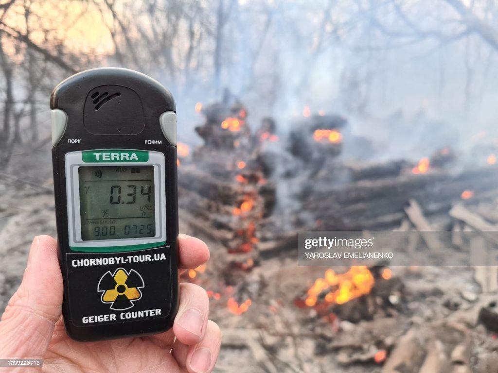 UKRAINE-DISASTER-FIRE : Fotografía de noticias
