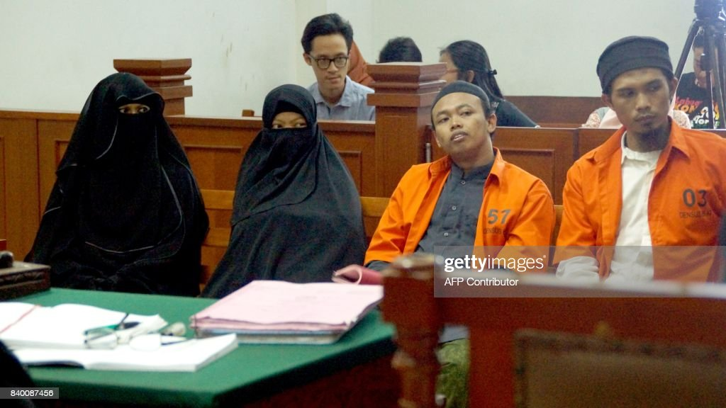 INDONESIA-TRIAL-ATTACK : News Photo