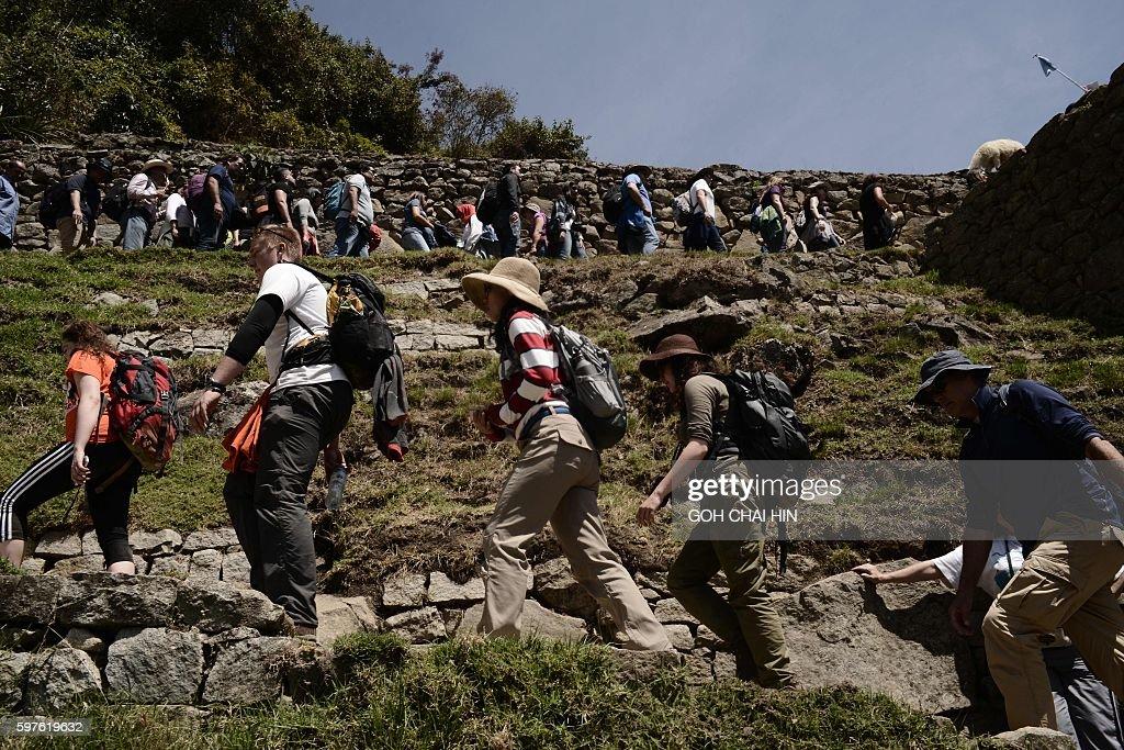 PERU-TOURISM-MACHU PICCHU : News Photo