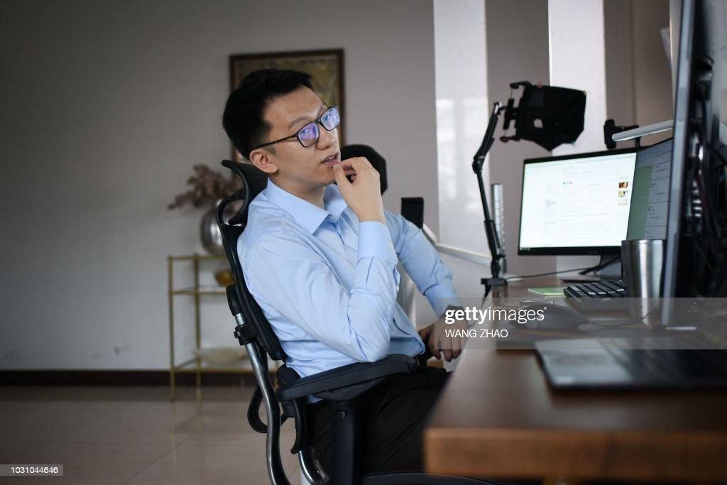 CHINA-LIFESTYLE-SOCIAL-MEDIA-WEIBO : News Photo