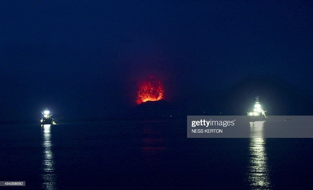 PNG-VOLCANO : News Photo