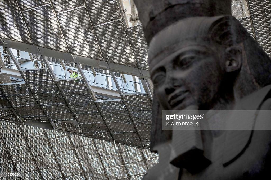 EGYPT-CULTURE-ARCHAEOLOGY : News Photo