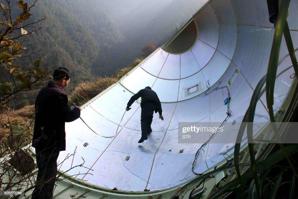 CORRECTION-CHINA-SCIENCE-SPACE : Nachrichtenfoto