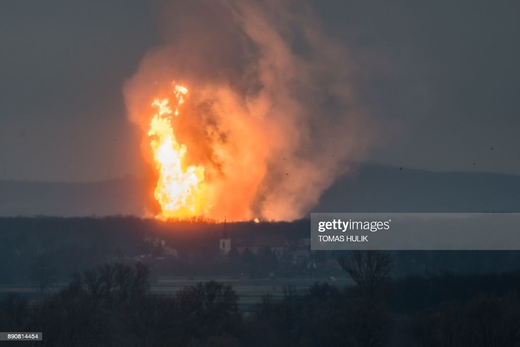 Explosion at major Austrian gas hub