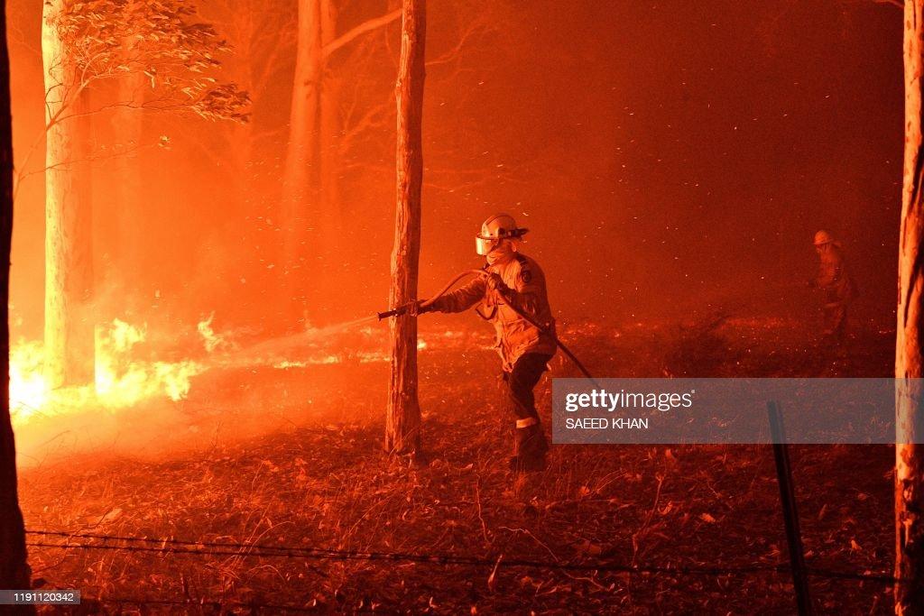 AUSTRALIA-WEATHER-FIRES : News Photo
