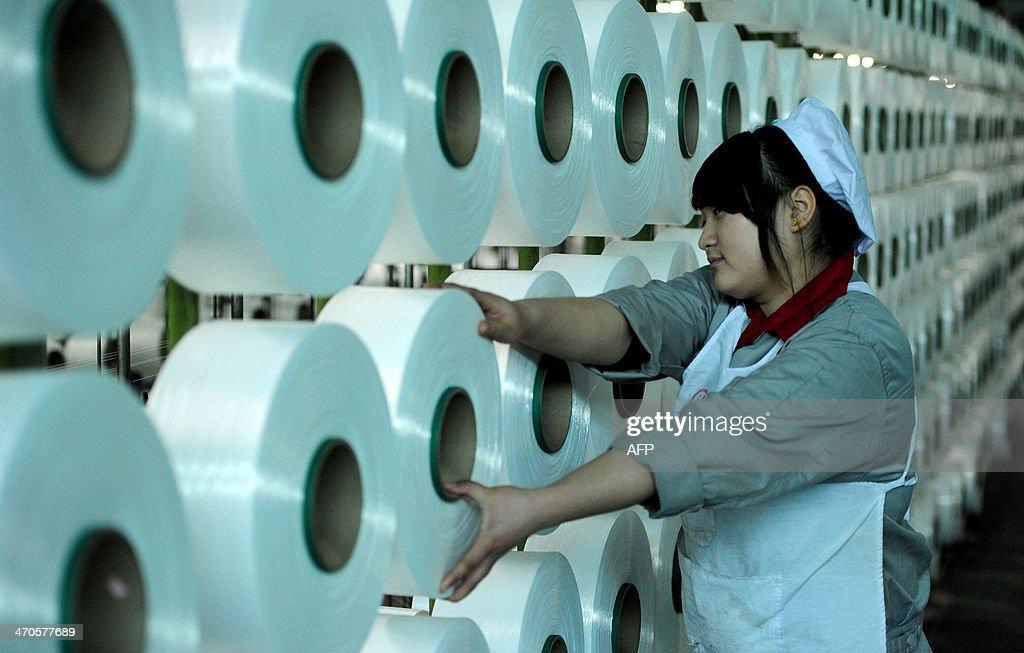 CHINA-ECONOMY-MANUFACTURING : Foto di attualità