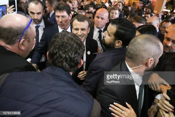 This picture taken on February 24 2018 shows former Elysee senior security officer Alexandre Benalla who insures the security of French President...