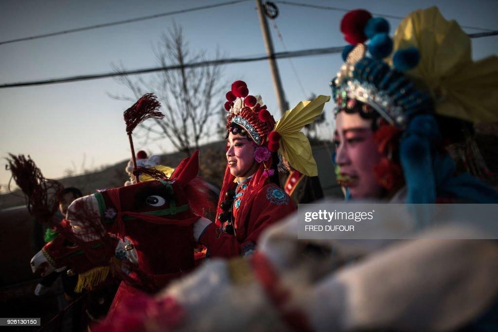 TOPSHOT-CHINA-CULTURE : News Photo