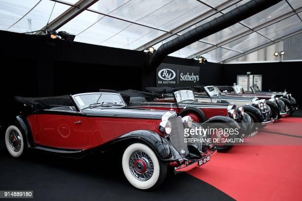 Rm Sotheby Paris Car Auction  Logo