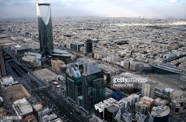 This picture taken on January 11 shows a general view of Riyadh.