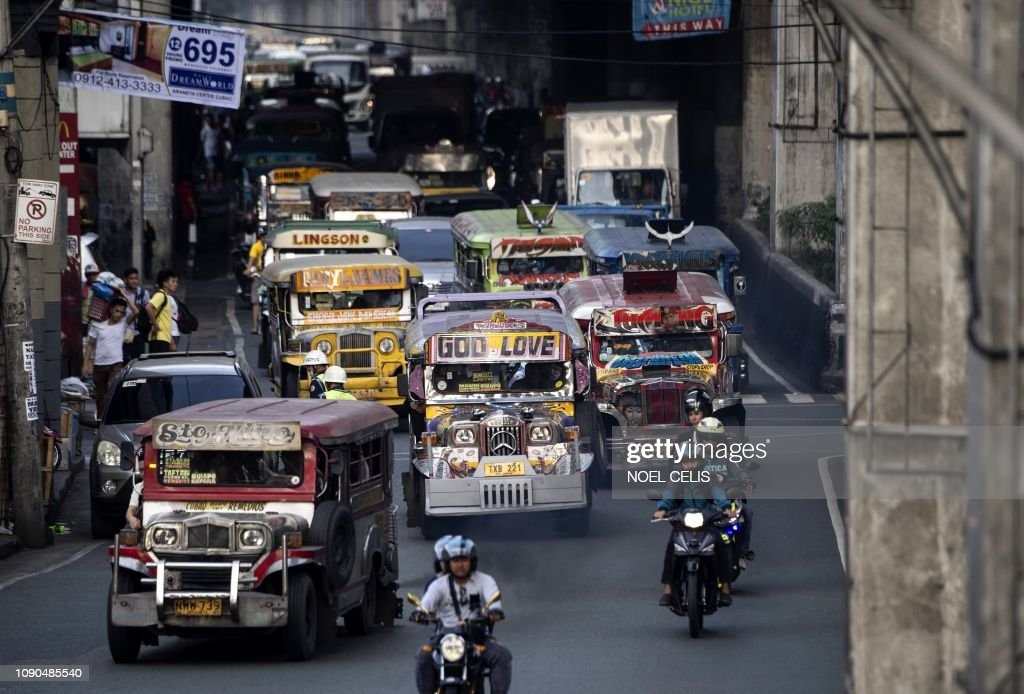 DOUNIAMAG-PHILIPPINES-LIFESTYLE-ART-JEEPNEY : News Photo