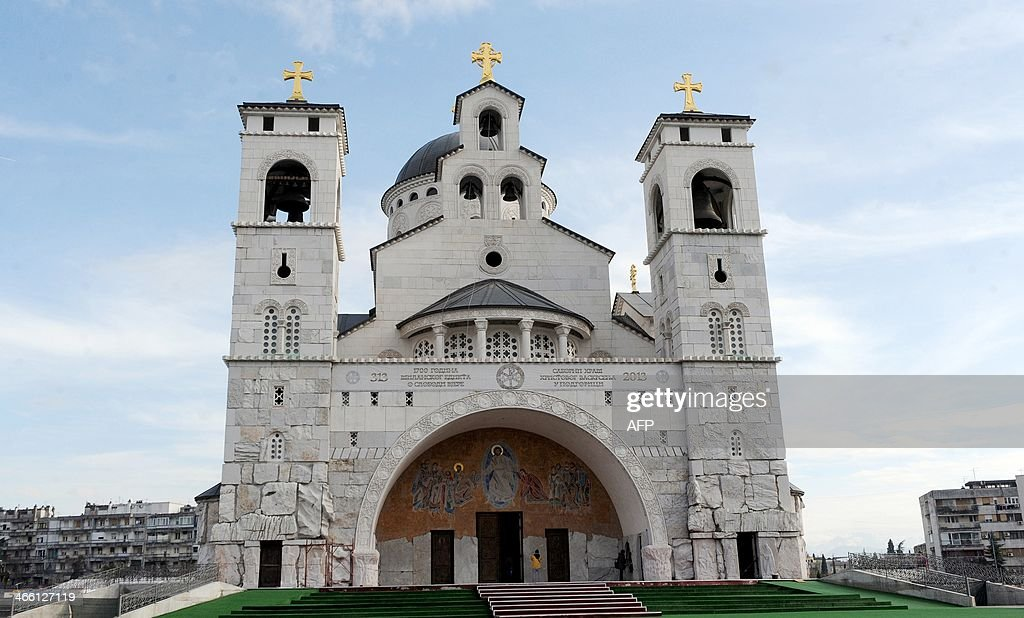MONTENEGRO-RELIGION-POLITICS-COMMUNISM : News Photo