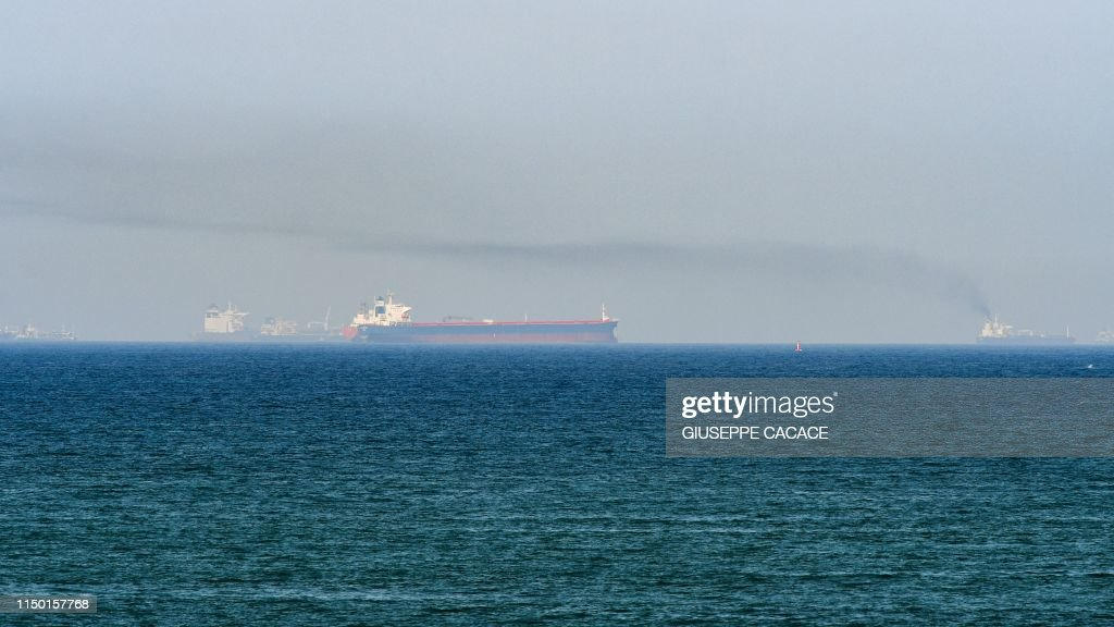 UAE-GULF-SHIPPING-OIL-US-IRAN : News Photo