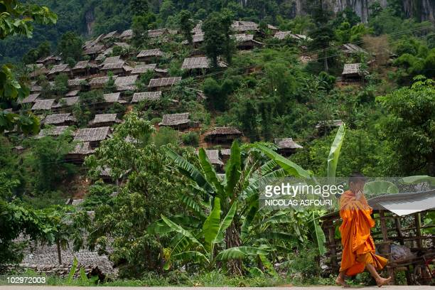 This picture taken on June 23 2010 shows a general view of the Mae La refugee camp around 90 km from Mae Sot on the ThaiMyanmar border Almost 140000...