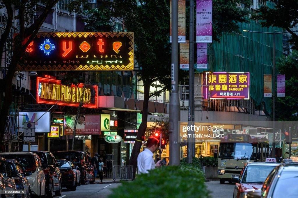 HONG KONG-CHINA-VIRUS-HEALTH-CRIME : News Photo