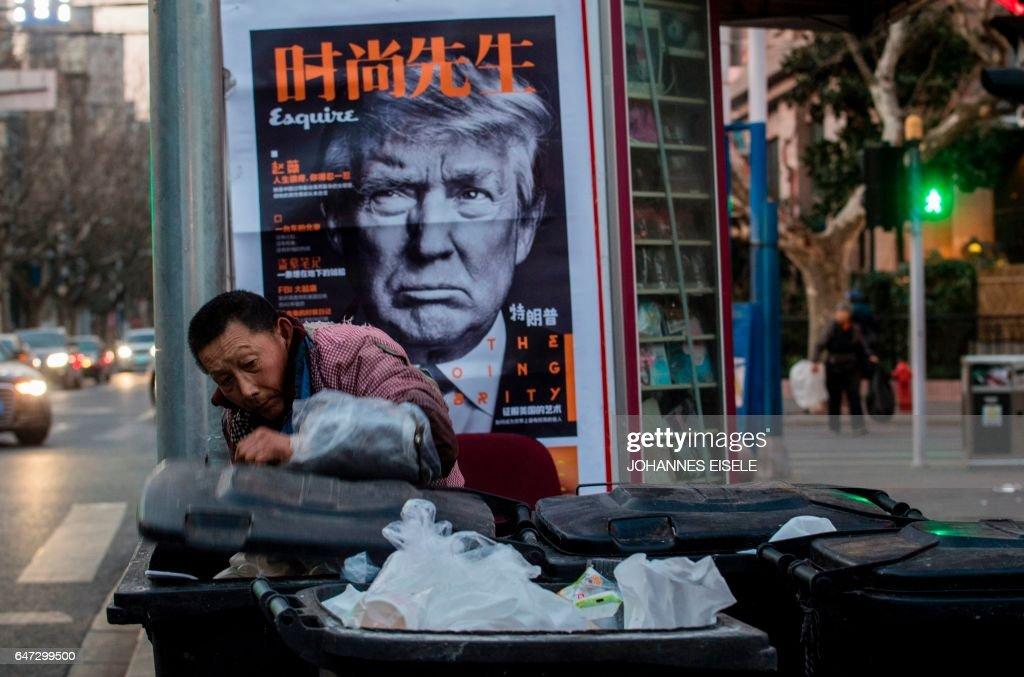 TOPSHOT-CHINA-US-POLITICS-ECONOMY : News Photo