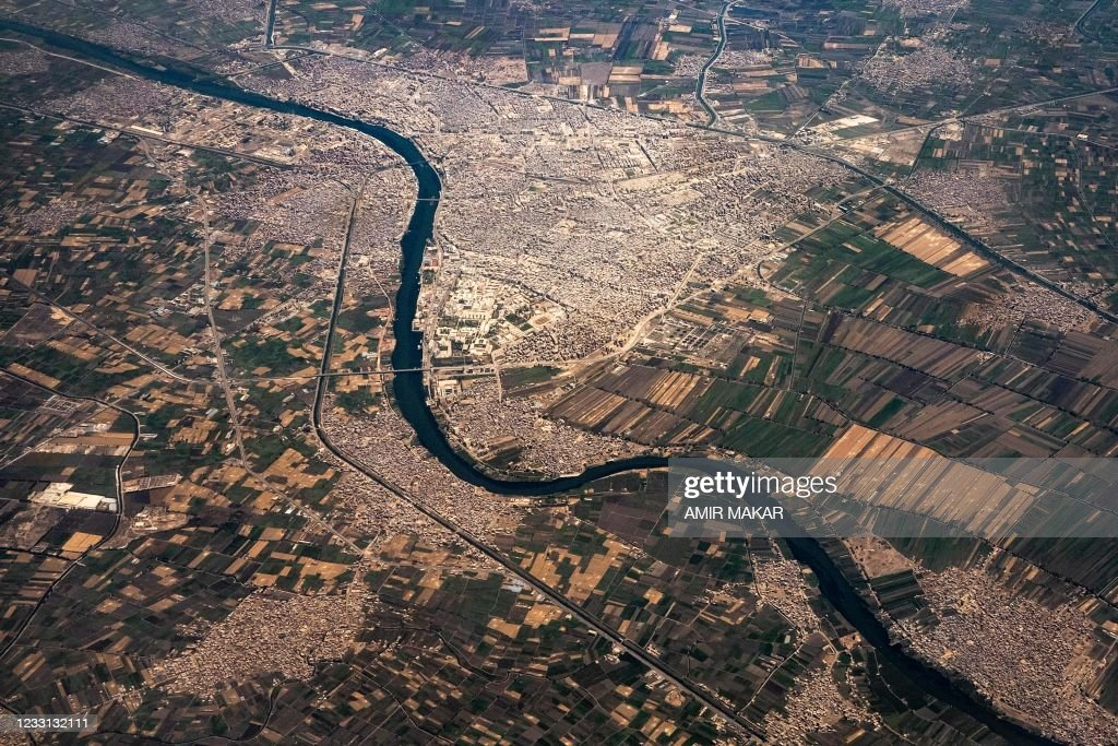 EGYPT-WATER-NILE-AGRICULTURE-URBANISM : Nieuwsfoto's