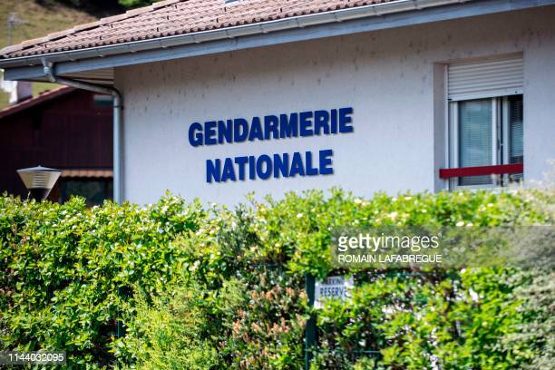 This picture taken on May 16, 2019 shows the Sallanches Gendarmerie where Jose Antonio Urrutikoetxea Bengoetxea also known as Josu Ternera, one of...